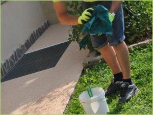 Nettoyage fréquent avec RESIGLIDE