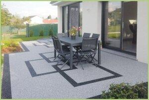 Le granulat de marbre RESIMARMO - Personnalisation des surfaces