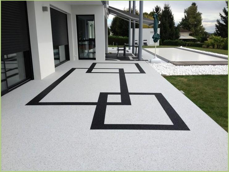 Revêtement terrasse piscine - Luberon
