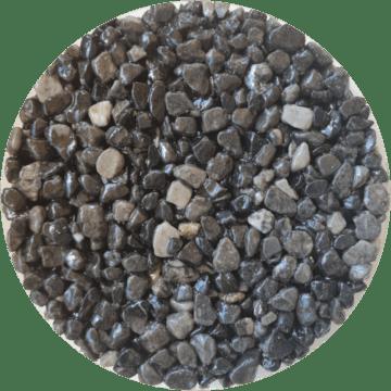 Les couleurs du granulat de marbre - Couleur grigio londra
