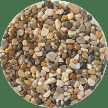 Les couleurs du granulat de marbre - Couleur millefiori