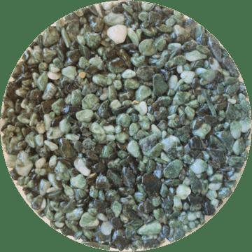 Les couleurs du granulat de marbre - Couleur verde alpi