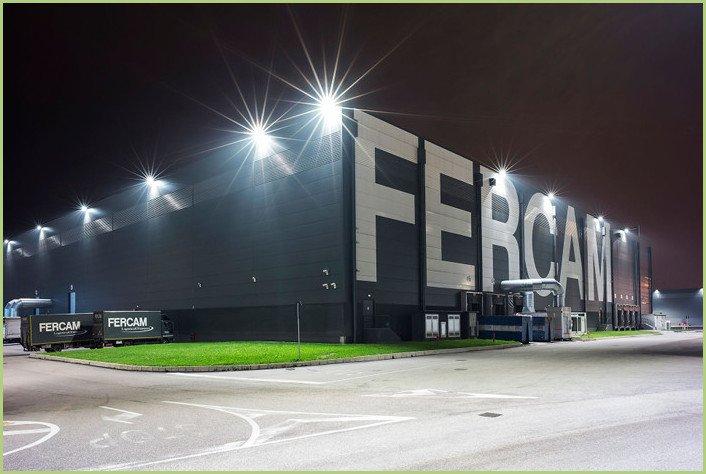 Centre logistique de la société FERCAM à Bologne (Italie)