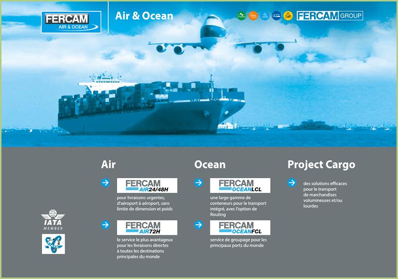 Les transporteurs - FERCAM l'Air et l'Océan