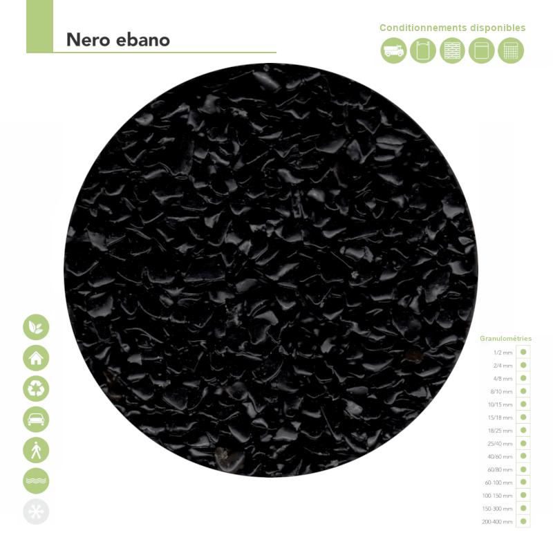Couleur nero ebano